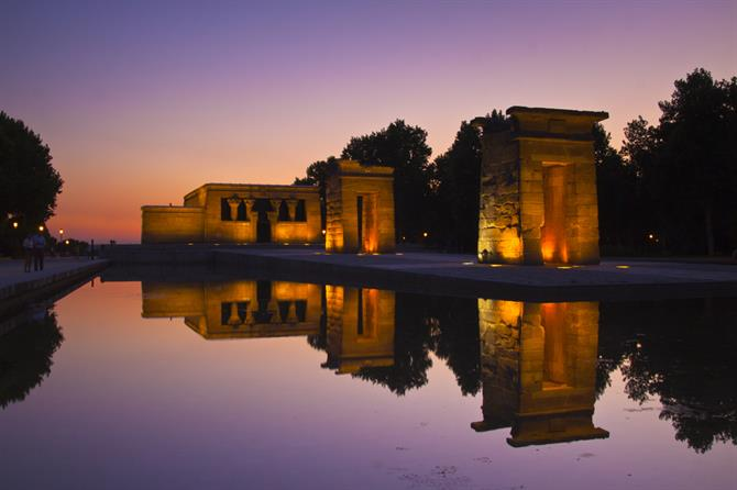 Debod Unusual places to see in Spain