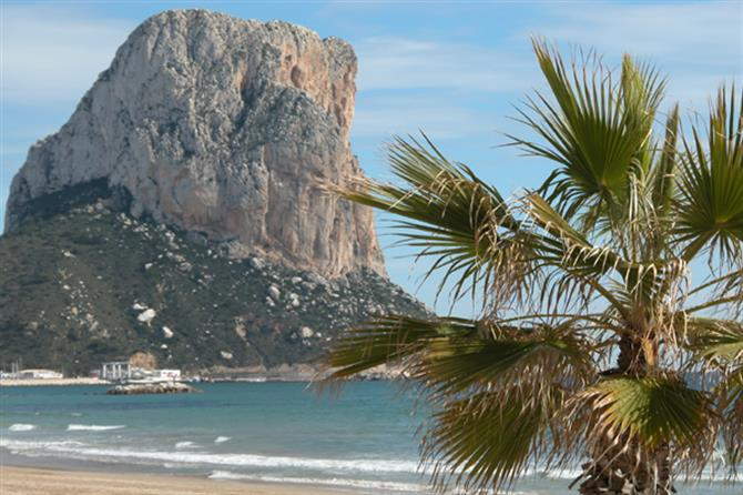 Another Mountain bike and cycling routes in Altea