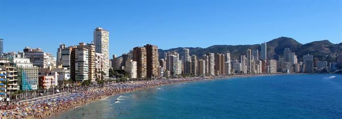 Benidorm Five best running routes in Alicante with the best views