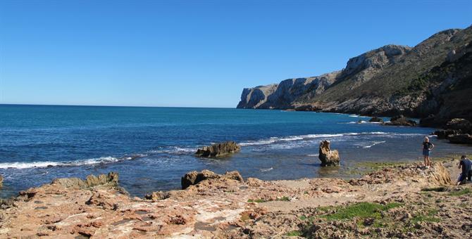 Cala Guide to Denias golden, sandy beaches