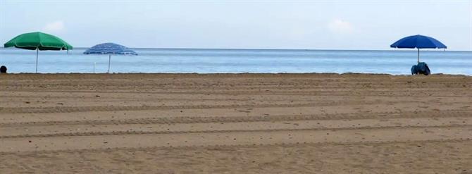 Las Guide to Denias golden, sandy beaches