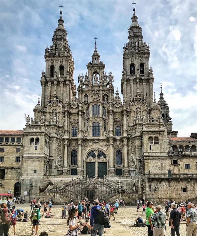 Santiago de Compostela Thе Mоѕt Beautiful Cities In Spain